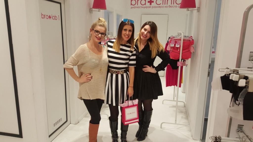 izabela sakutova_ bra clinic expert and her PR menager Kristin
