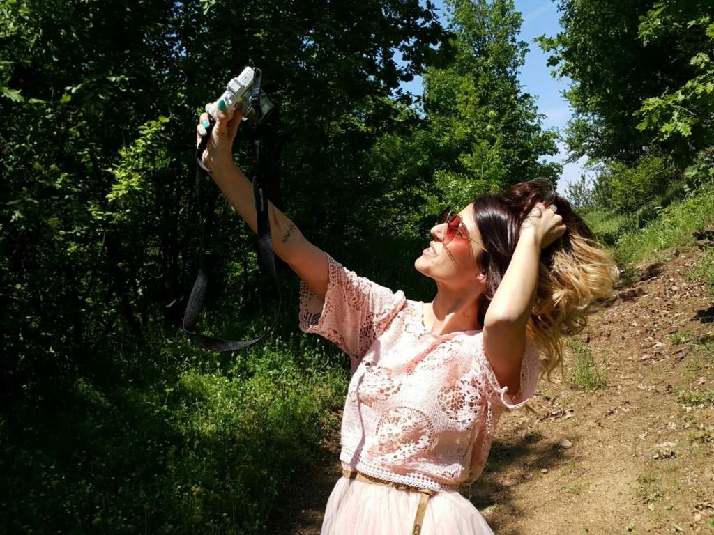 olympus pen selfie