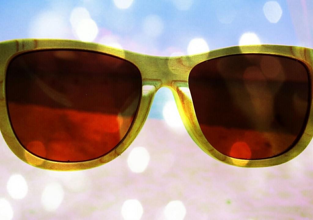 clandestino wooden sunglasses