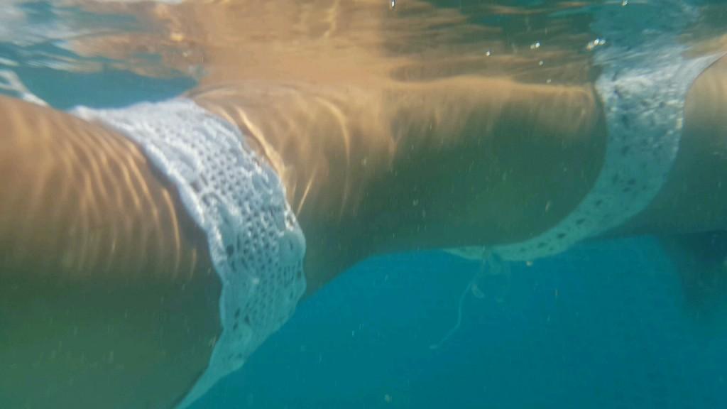 boho knitted swimwear- Cusher